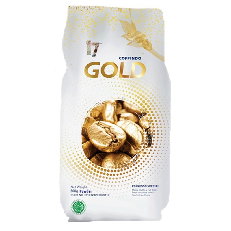 COFFINDO Gold Espresso Blend Powder 500 Gram