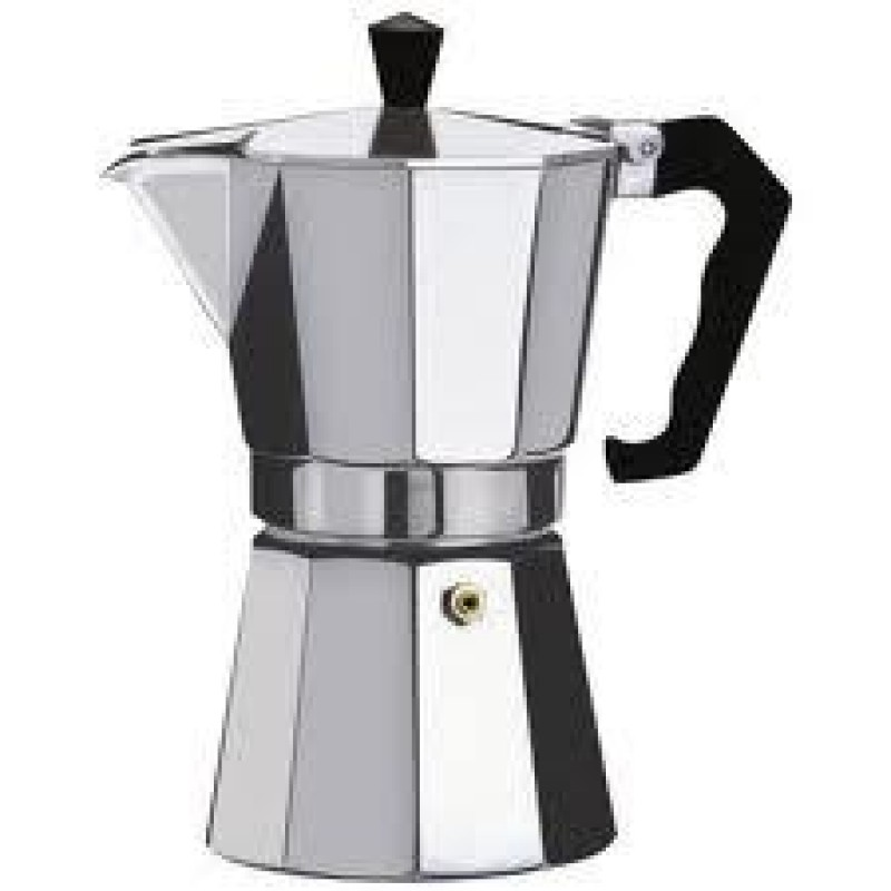 Hexa Alumi Moka pot 6 Cup 275ml
