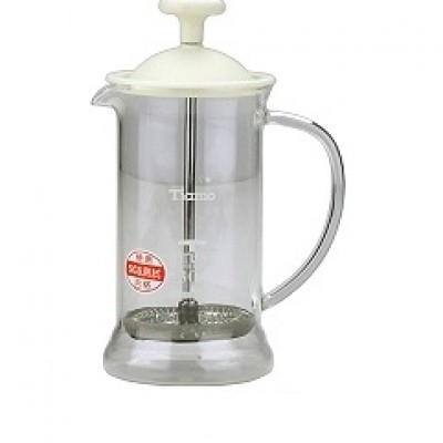 Tiamo French Press HG2110W White