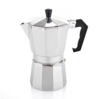Moka Pot Aluminium L 9 Cup Coffee Maker