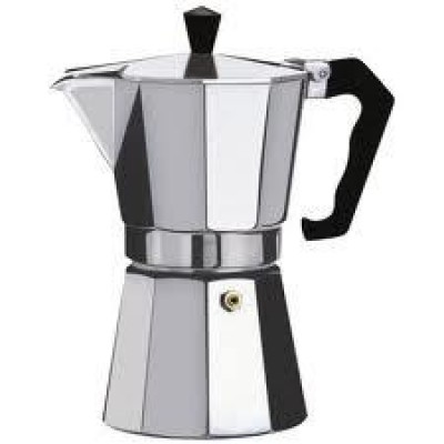 Hexa Alumi Moka Pot 9 Cup 400ml