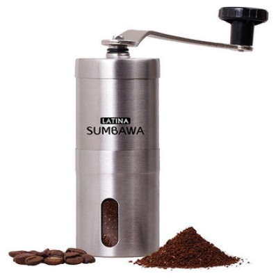LATINA Sumbawa Mini Ceramic Handy Grinder