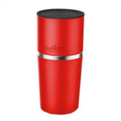Cafflano - Klassic Coffee Maker Red