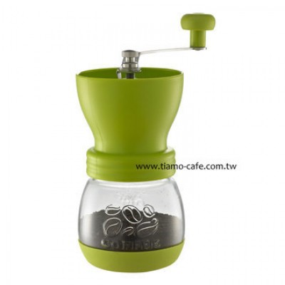 Tiamo HG6149.GR Skerton Ceramic Handy Grinder Green - Coffee Pics