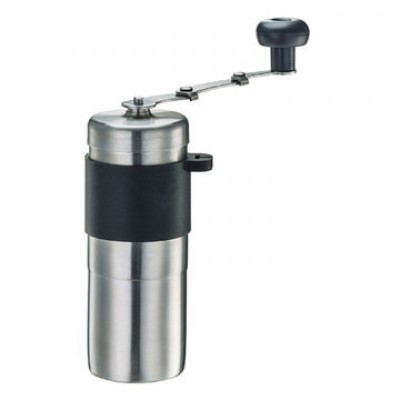Tiamo HG6171.BK mini Steel Ceramic Coffee Grinder Black