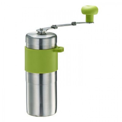 Tiamo HG6171.G mini Steel Ceramic Coffee Grinder Green