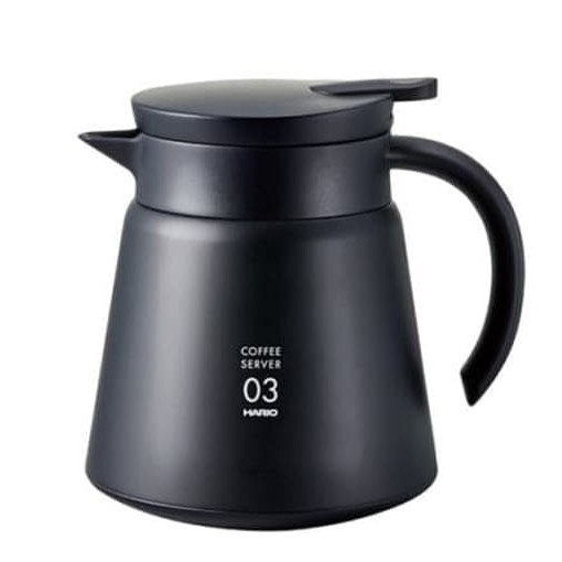 Hario V60 Insulated Stainless Steel Server 800 BLACK (VHS-80B)