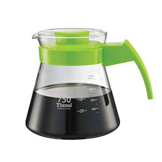 Tiamo - Coffee Server 750cc Green (HG2211G)