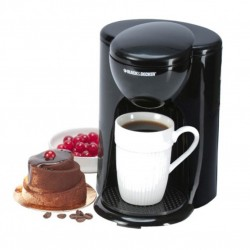 Black Decker Coffee Maker Mini 1 Cup 330W 250ml