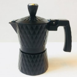 Mokapot 2 Cups Moka-2093 Warna Black