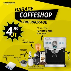 Paket Garage Coffeeshop (Medium Package)
