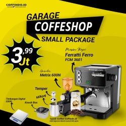 Paket Garage Coffeeshop (Small Package)