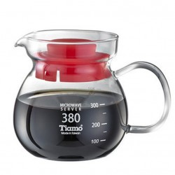 Tiamo HG2201.BK 380 cc Coffee Server